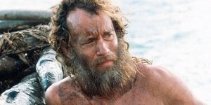 Tom-Hanks-long-beard-in-Castaway-حلاقة